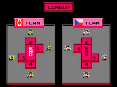 Ice Hockey NES Review