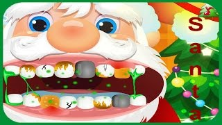 Funny Care Santa Claus Tooth Problems Video Play-Doctors Games-Christmas Games Online