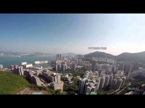 Chocolate Delivery Across Hong Kong By Drone video