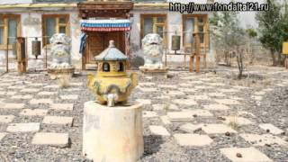 A Mongolian Woman -- built the Marching Maitreya temple complex with her own hands