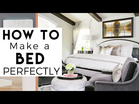 How to Make A Bed - Interior Design