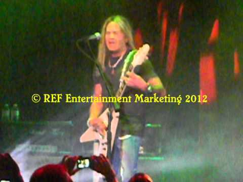 CARLOS CAVAZO does RATT Lay It Down Part 2 Las Vegas Copyright REF Entertainment Marketing 2012