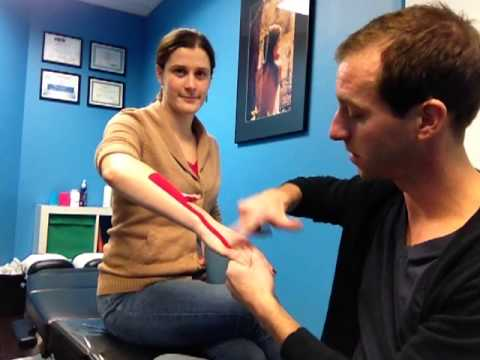 Lymph Drainage Kinesiology Taping
