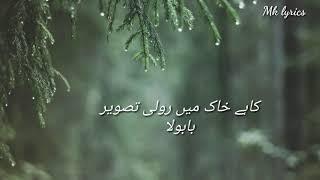 BabulaLyricsMeri Guriya OstMohsin Abbas sad song