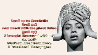 Beyonce - Before I let go (INSTRUMENTAL with lyrics) HD