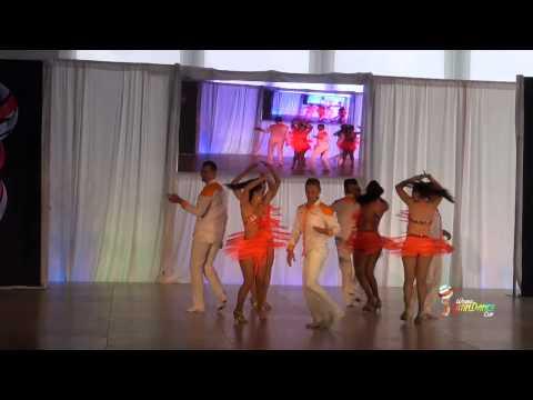 BAILA LATINO & KEREN DURAN, COLOMBIA, RUEDA DE CASINO, FINAL ROUND, WLDC 2014