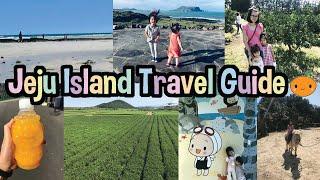 🌈Jeju Island Travel Guide