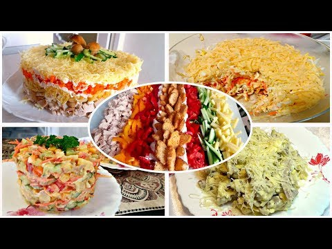 Быстрый салат рецепт с фото пошагово
