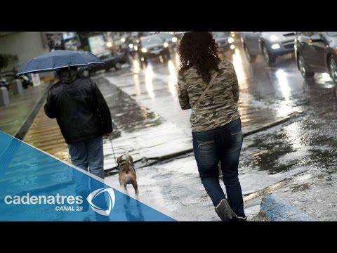 Lluvias en Monterrey provocan desbordamientos de arroyos