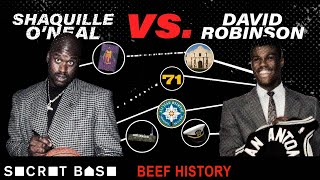 Shaq's 10-year beef with David Robinson included the pettiest 71-point game and one huge lie