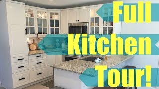 Full Kitchen Tour!   bitsandclips