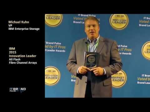 IT Pros Vote IBM 2015 Innovation Leader All Flash FC Array