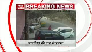 Minor crushes woman under his car in Sector 1, Dwarka