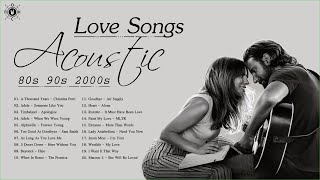 Acoustic Love Songs 80s 90s 2000s ❤ Greatest Hits Love Songs Of All Time ❤ Beautiful Love Songs
