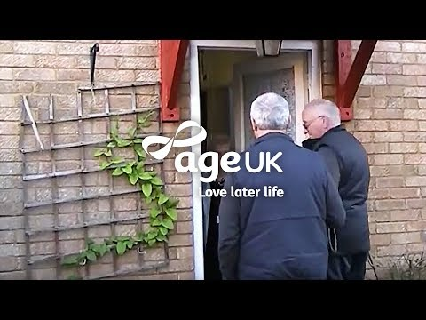 How Age UK Handypeople help older people in winter