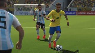 Copa do Mundo PES 2018 #5 Brasil x Argentina