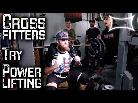 Crossfitters Try Powerlifting Workouts ft. Misfit Athletics