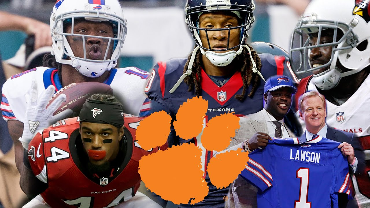 Clemson Football's Top 5 Players In The NFL