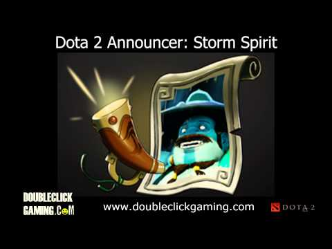 Dota 2 Announcer Soundset - Storm Spirit