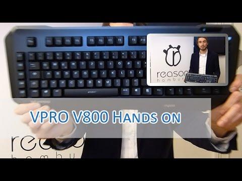 VPRO V800 Gaming Keyboard Hands on [german/HD]