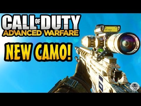 COD Advanced Warfare Camo! NEW Black Ops 2 & Ghosts Camos (Call Of Duty AW Personalisation Pack)