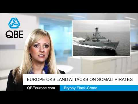 Europe OKs land attacks on Somali pirates