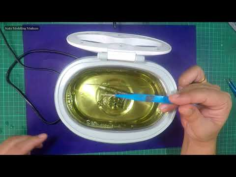 Airbrush Cleaning: Ultrasonic cleaner