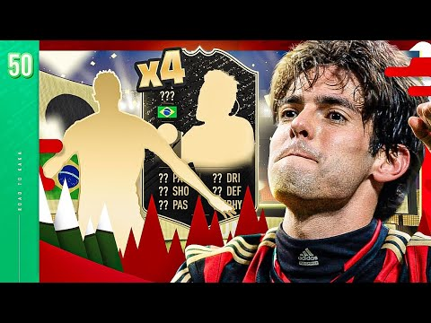 4X TOTW PACK OPENING *GUARANTEED 4 INFORMS*!! - FIFA 20 KAKA ROAD TO GLORY #50