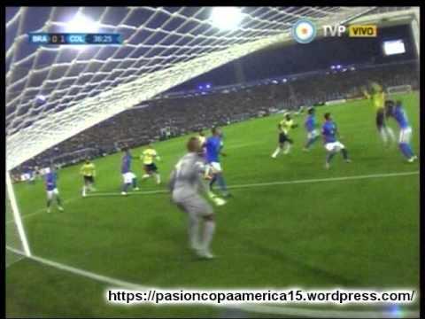 Colombia 1 Brasil 0 (Super- K800 Radio)   Copa America 2015