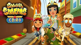 SUBWAY SURFERS EGYPT CAIRO WITH JASMINE WORLD TOUR GAME PLAY ON PC 2017-2018