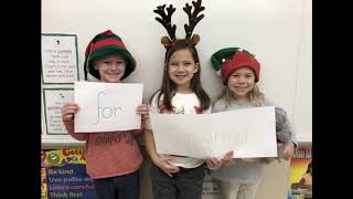 Mrs. Harrison shares Merry Christmas from North Elementary