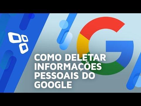 Como deletar as suas informações do Google