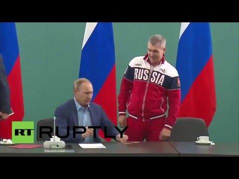 Russia: Putin gives Russian citizenship to national Judo coach Ezio Gamba