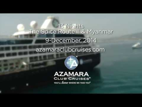 Azamara Quest - The Spice Route II   Myanmar