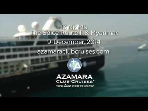 Azamara Quest - The Spice Route II   Myanmar