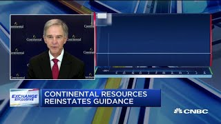 $40 oil is not sustainable for the industry: Continental Resource CEO
