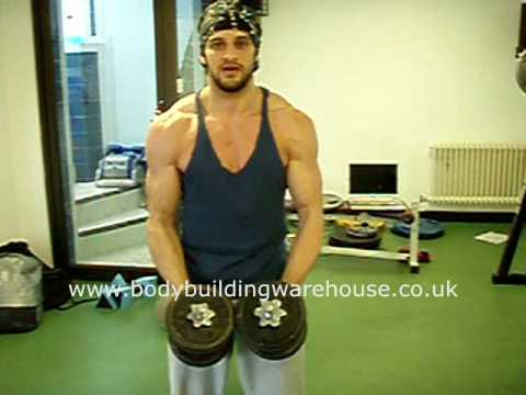Shoulder Exercise Lateral Raises Image 1