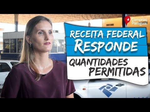 Receita Federal Responde: Qual é a quantidade permitida para comprar no Paraguai?