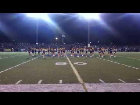 Montebello High School Drill Team Half Time Performance