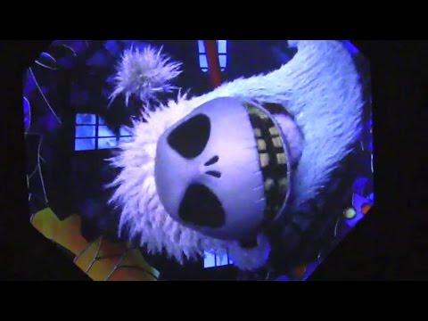 FULL Haunted Mansion Holiday 2014 ride through at Disneyland
