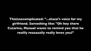 Reddit AMA-Adam Harrington (voice of Shaco, Morde etc.) & Erik Braa (Jax, Draven)