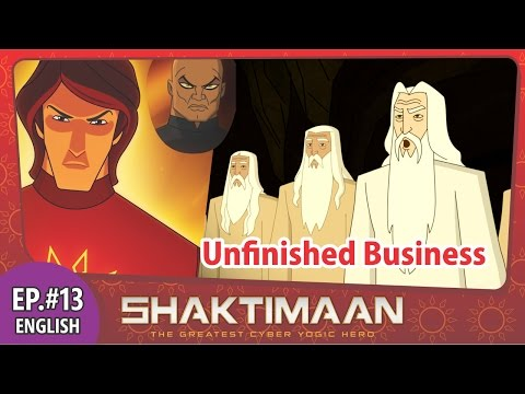 Shaktimaan Episode 13 English Animation Series video