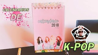 DIY K-POP: CALENDARIO DE BTS, EXO, SS501, BLACKPINK, GOT7, KARD, RED VELVET