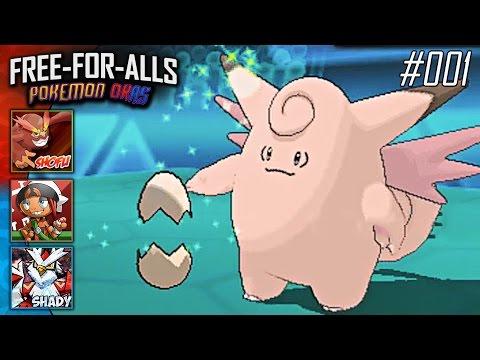 Pokémon Omega Ruby & Alpha Sapphire FFAs #001 Feat. Shofu, ShadyPenguinn, & HoodlumScrafty!