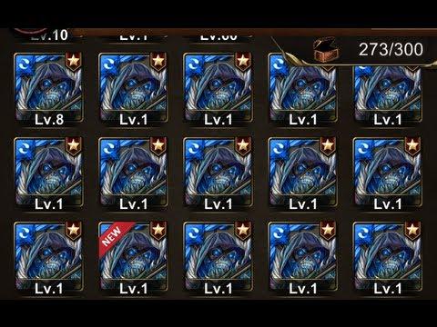 神魔之塔 — 超轟烈的合成24隻『水魔族』技能能升幾級呢?