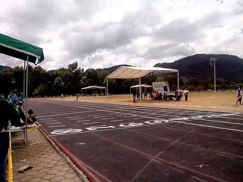 Omar Rivera en 800m en San Cristobal de las Casas, Chiapas