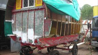 GYPSY CARAVAN RESTORATION part two