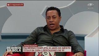Júnior: Palmeiras tem tudo para ganhar a Libertadores