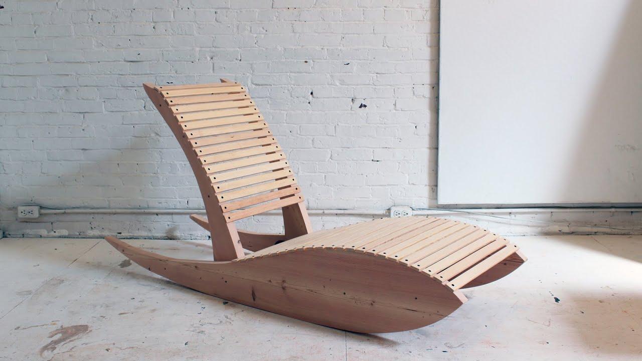 Diy Rocking Lounge Chair 1 0 Youtube