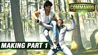 Commando - Making Of 'Commando' Stunt Sequences